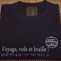 aeriscopia-tshirt-braille-metal-noir